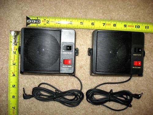 ham cb radio speaker you get 2 external