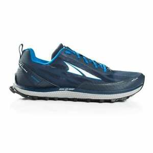 Altra Superior 3 5 Mens Zero Drop Foot Shaped Trail Running Shoes Blue Ebay