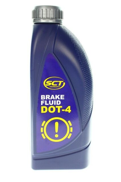 SCT BREMSFLÜSSIGKEIT DOT 4, 1 Liter Made in GERMANY Brake Fluid