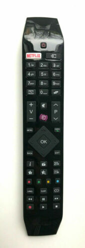 NEW TV REMOTE CONTROL RC49141 FOR HITACHI  49HB5W62 NETFLIX Button RC 49141