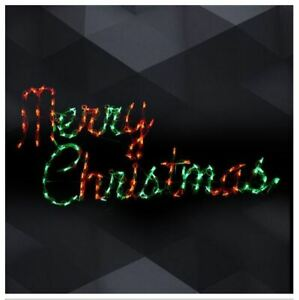 Xmas-034-Merry-Christmas-034-Hanging-Sign-Outdoor-LED-Lighted-Decoration-Wireframe