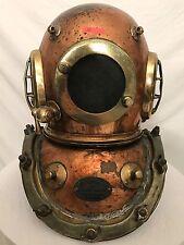 "Maritime ""classic"" SIEBE GORMAN & CO diving helmet - 360' HD VIDEO"