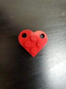 Lego Valentines Day Heart Love Token Charm Tik Tok Piece In Hand In Red Ebay