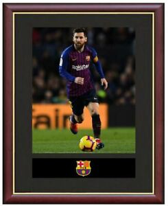 Leo-Messi-Mounted-Framed-amp-Glazed-Memorabilia-Gift-Football-Soccer