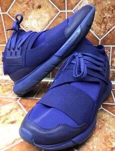 ee11467f4 Adidas Y-3 Qasa High Yohji Yamamoto S82124 Blue Men Sneaker Trainer ...