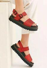 Dr Martens Dark Red Voss Glitter Sandal
