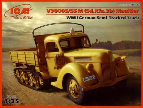 Sd.Kfz.3b ICM 35412 Ford V3000S//SS M Maultier 1:35