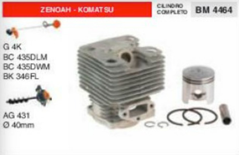 Cylindre et Piston Foreuse de Terre Zenoah Komatsu AG431 AG432 Ø 40 MM