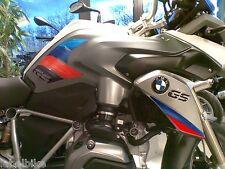 2 ADESIVI 3D PROTEZIONI LATERALI RALLY compatibili MOTO BMW GS R1200 / 2013-2015