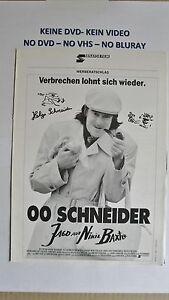 (W02) Werberatschlag - 00 SCHNEIDER Jagd auf Nihil Baxter - <span itemprop=availableAtOrFrom>Buchholz, Deutschland</span> - Vollständige Widerrufsbelehrung Widerrufsbelehrung Widerrufsrecht Sie haben das Recht, binnen eines Monats ohne Angabe von Gründen diesen Vertrag zu widerrufen. Die Widerrufsfrist beträg - Buchholz, Deutschland