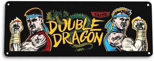 Double-Dragon-Classic-Arcade-Marquee-Game-Room-Cave-Wall-Decor-Metal-Tin-Sign