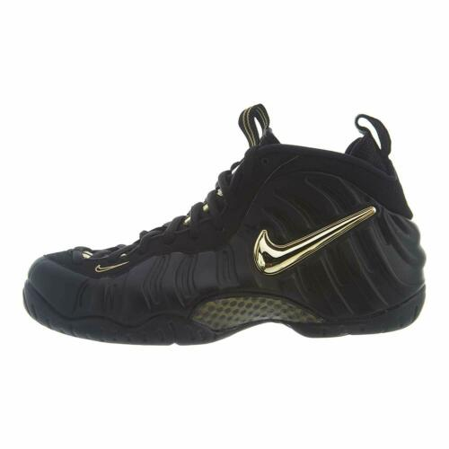 Nike Air Foamposite Pro Black//Metallic Gold 624041 009