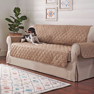 Surprising Details About Better Homes And Garden Non Skid Waterproof Quilted Pet Sofa Cover Machost Co Dining Chair Design Ideas Machostcouk