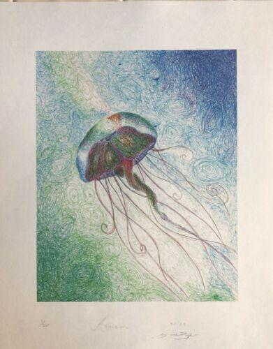 by Jason Becker/'s Niece Sarah Becker TWO Art Prints LIM.EDIT 11X14Inches
