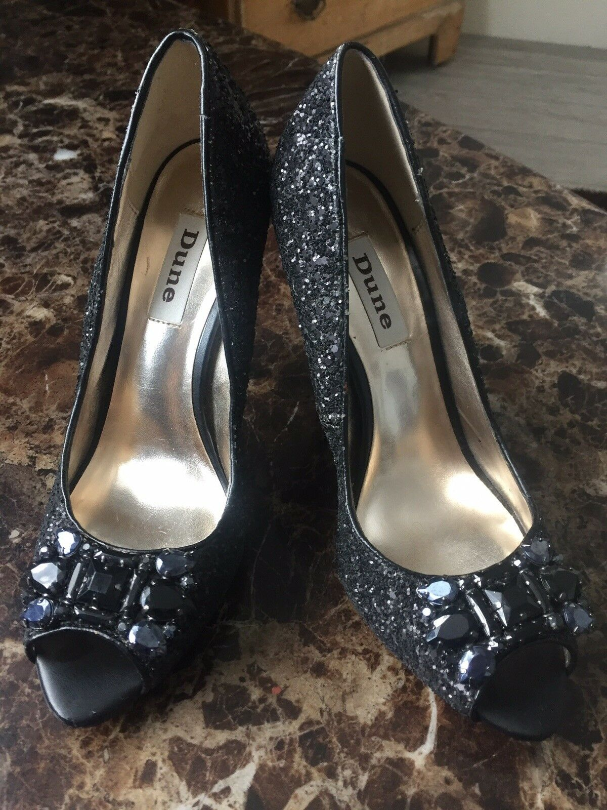 Dunne Ladies shoes Size 5, Worn Once To A Wedding.  Immaculate Condition