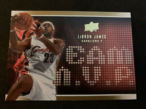 LEBRON-JAMES-2008-09-Upper-Deck-Team-MVP-SP-Insert-MVP-5-Cavs-Heat-Lakers