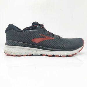 Brooks-Mens-Adrenaline-GTS-20-1103071D029-Black-Running-Shoes-Lace-Up-Size-8-D