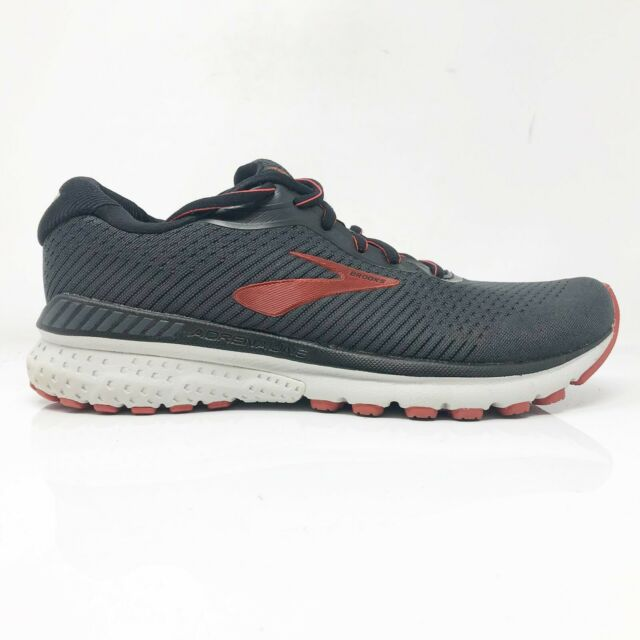 Brooks Mens Adrenaline GTS 20 1103071D029 Black Running Shoes Lace Up Size 8 D