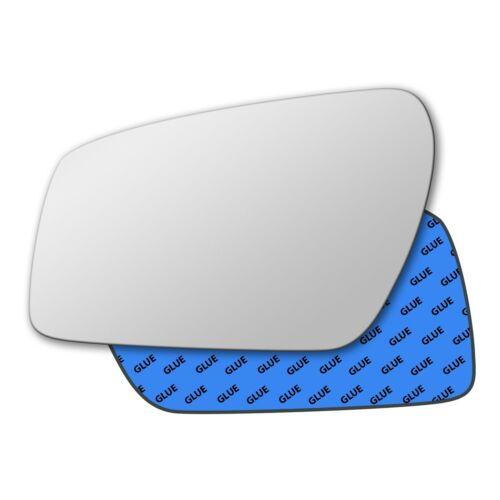 Left Hand Passenger Side Mirror Glass for Ford Focus 2004-2007 0009LS