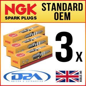 3x NGK CR6E 6965 Standard Spark Plugs *Wholesale Price SALE*