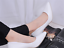 Womens-Pointed-Toe-Court-Pumps-High-Heels-Shoes-Block-Kitten-Spring-OL-Slip-On thumbnail 5