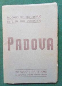 Cartoline-PADOVA-RICORDO-DEL-SANTUARIO-DI-S-M-DEL-CARMINE-20-vedute-artistiche