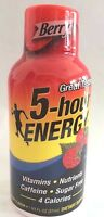 Berry Flavor 5 Hour Energy, 1.93-fl Oz/pack,24 Packs (2 12-packs), Free Shipping