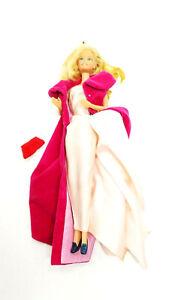 1966 Mattel Barbie Twist And Turn Blonde Hair Bending Knees W Dress & Purse
