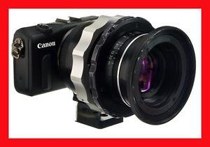 PRO-Adapter-CANON-EF-M-Mount-M-M2-gt-LOMO-OCT19-Lens-Anamorphic-w-TRIPOD