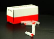 LOT de 50 FILTRES,CARTOUCHE,RECHARGE Denicotea à gel pour Fume-cigarette !!