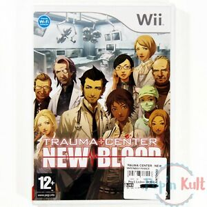 Jeu-Trauma-Center-New-Blood-VF-sur-Nintendo-Wii-NEUF-sous-Blister