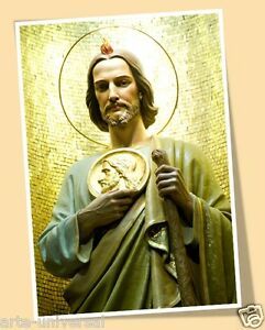 Saint Jude Thaddeus Print Poster San Judas Tadeo Impossible Causes