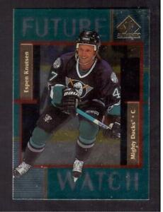 1997-98-SP-AUTHENTIC-FUTURE-WATCH-169-ESPEN-KNUTSEN-ROOKIE