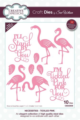 Creative Expressions Craft Dies By Sue Wilson-Necessities-Tickled Pink