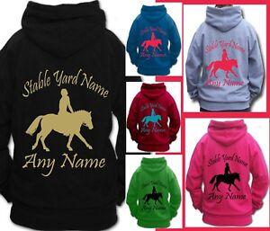 Talk To The Hoof Equestrian Boys Girls Kids Hooded Top Kids Horse Hoodie