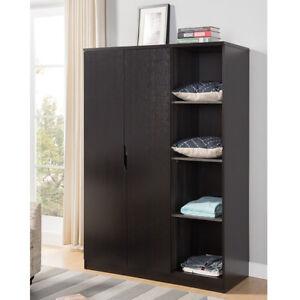 Image Is Loading Bedroom Furniture Tall Wardrobe Organizer Storage Closet  Armoire