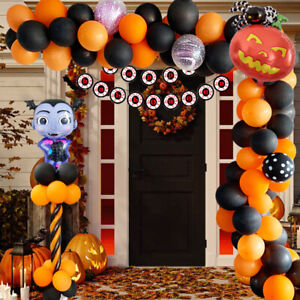 125PCS-Set-Halloween-Latex-Foil-Balloons-Arch-Ballons-Spider-Ghost-Party-Decor