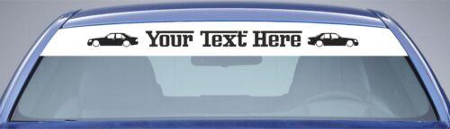Windscreen Sunstrip Your Text Mercedes W140 S-Class S 320 S 600 S 500 316