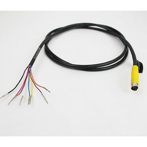 S-video 8 Pin Male 4.5 Ft Cable output /input harness Plug for ...