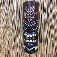 Tribal Tiki Hawaiian Turtle Hono Wood Wall Mask Patio Tropical Bar Decor 20