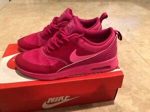 Details about Nike Air Max Thea Womens Size 6 599409 604 Pink PowFireberry