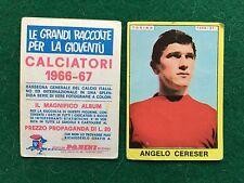 CALCIATORI 1966/67 66/1967 TORINO Angelo CERESER Figurina Sticker Panini (NEW)