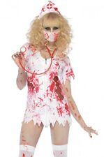 NUOVO Zombie-Infermiera BETTY Halloween Costume Rocky Horror Show LEG AVENUE ABITO M/L