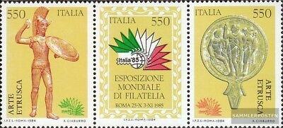 2019 New Style Italien 1902-1904 Dreierstreifen (kompl.ausg.) Gestempelt 1984 Briefmarkenausste