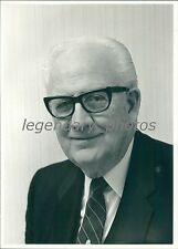 1984 Elder Devere Harris Second Quorum of Seventy Original News Service Photo