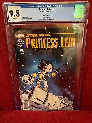 Star Wars Princess Leia #1 Skottie Young Variant Edition Marvel Comics HP1592