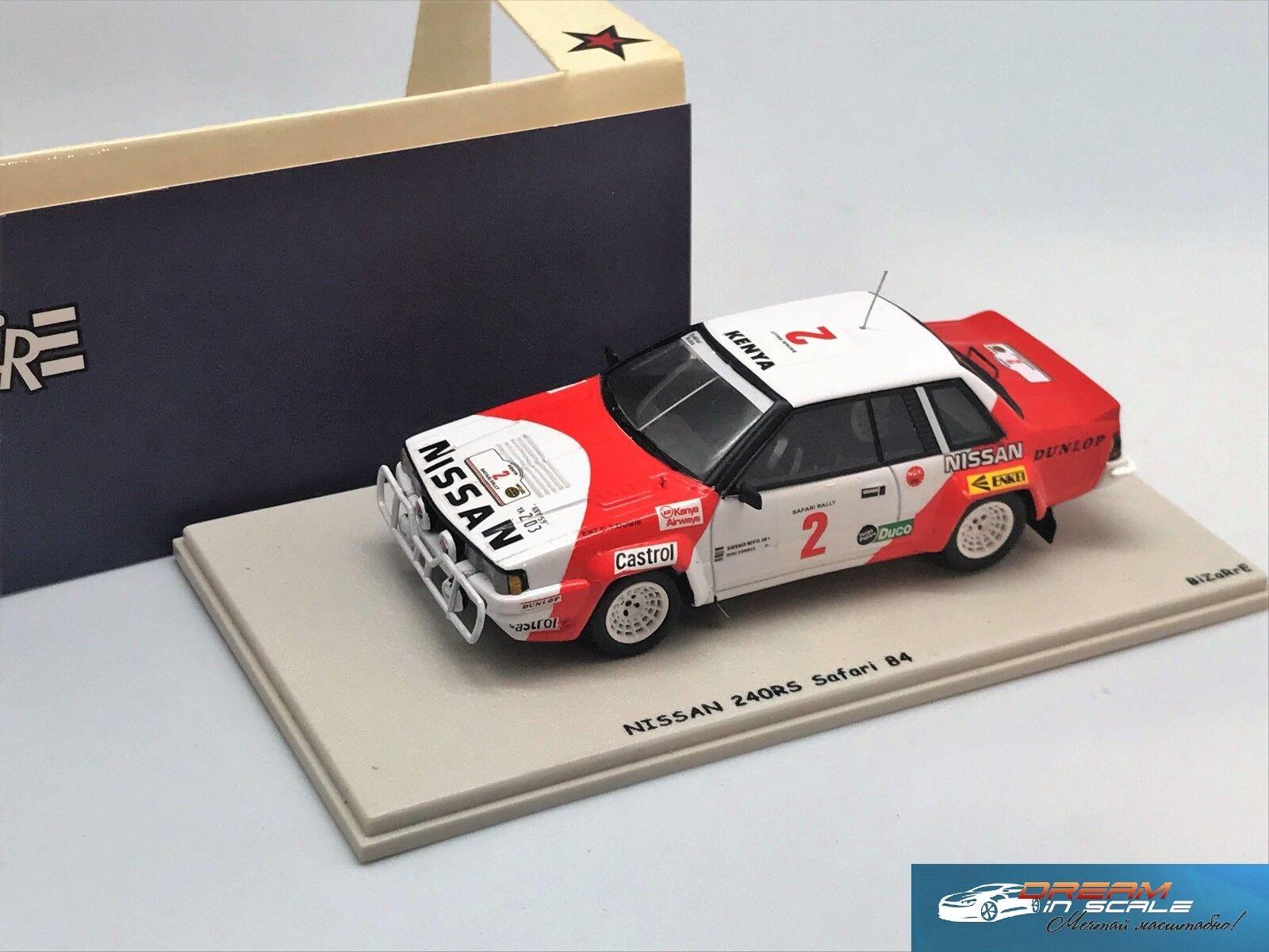 Nissan 240 RS Safari Rally 1984 extraño BZ221 1 43