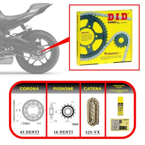 DID KIT TRASMISSIONE 11-13 Transmission Kit HONDA CBR 600 F