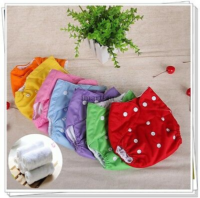 Reusable modern Baby Cloth Nappies Diapers Adjustable Inserts bulk nappy