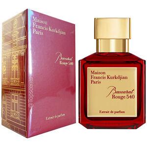 Baccarat Rouge 540 Extrait Maison Francis Kurkdjian Authentic Sealed 70ml 2 4 Us Ebay